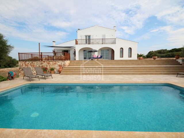 Spectacular country house in Ferrerias, Menorca