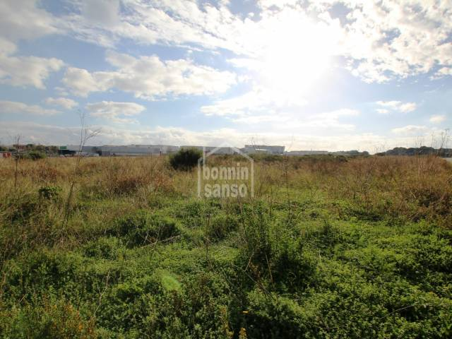 Large plot in phase IV of the industrial estate, Mahon, Menorca
