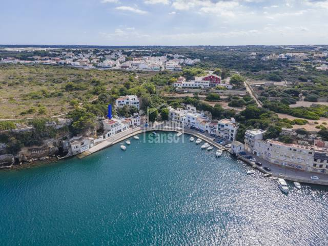 Breath the sea in this wondeful first line property in Cala fonduco, Menorca.