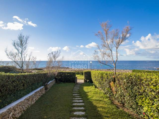 Delightful house with sea views in Biniancolla, Menorca