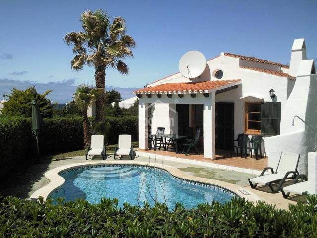Beautiful very private villa with pool in Cap d'Artrutx, Ciutadella, Menorca