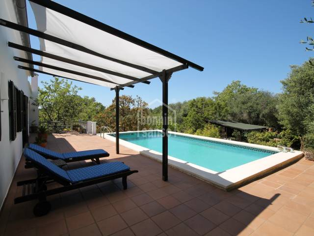 Beautiful country house with a magical garden in Alaior