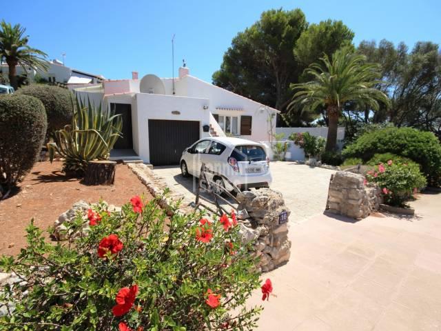 Exquisito chalet en Binibeca, Menorca