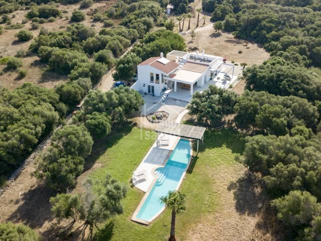 Beautiful modern house in the countryside near Ciutadella, Menorca