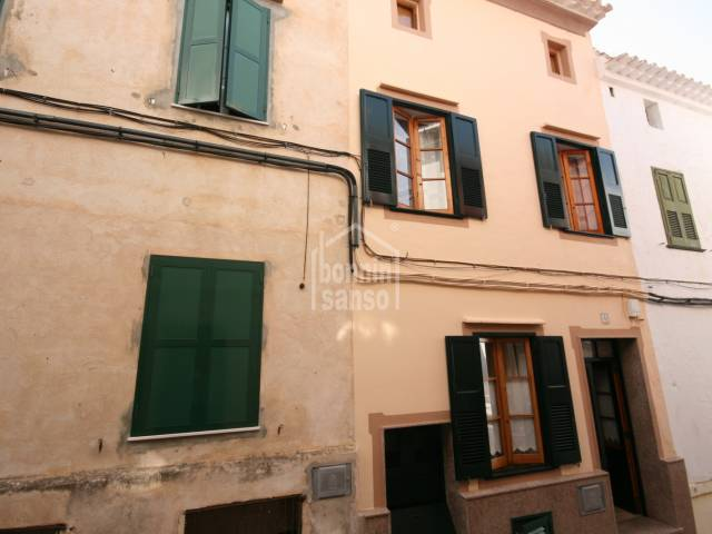 Beautiful house in the historic center of Alayor