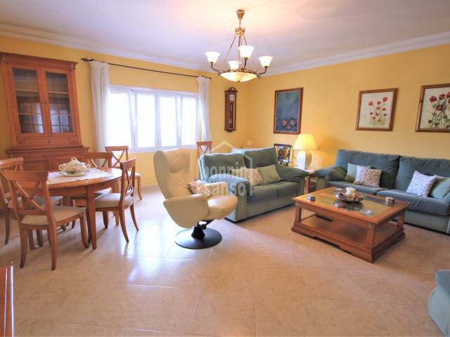 Second floor apartment with only 4 neighbours in Ferreries, Menorca.