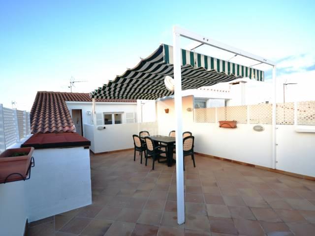 Attractive penthouse duplex in Ciutadella, Menorca