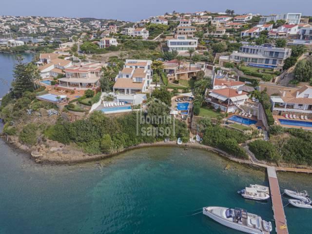 Exclusiva! Chalet en primera linea del puerto de Mahón. Cala Llonga, Menorca