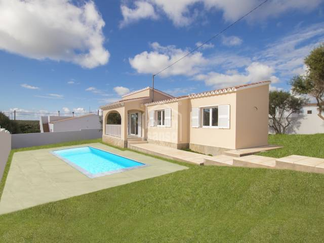 Refurbished villa in Calan Porter, Menorca