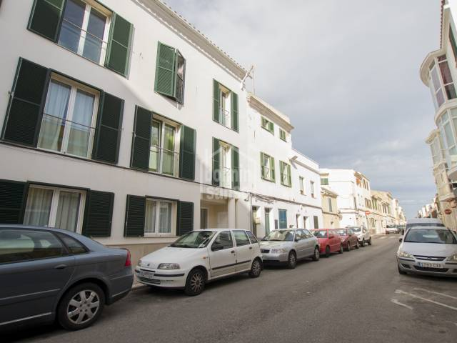 Modern duplex penthouse near the centre of Mahon, Menorca.