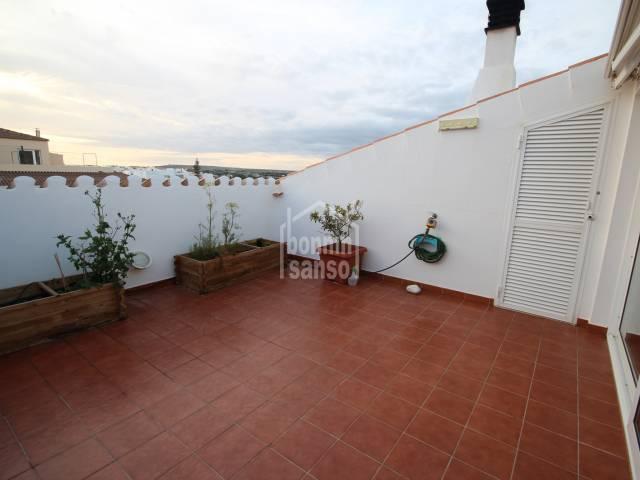 Bonito atico en Ciutadella, Menorca