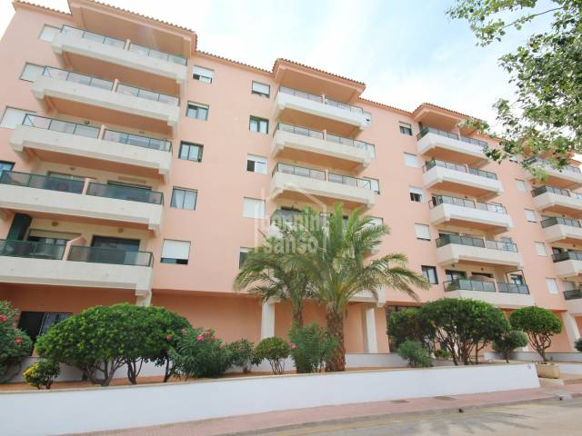 Third floor apartment with lift in Es Castell, Menorca.