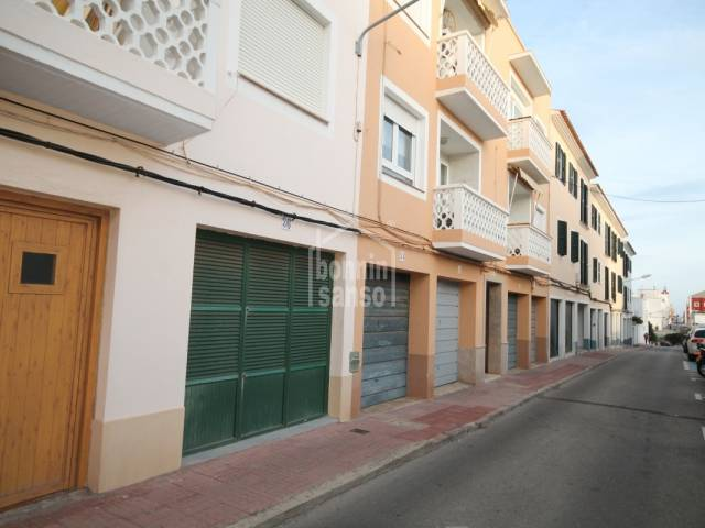Second floor apartment in Es Castell