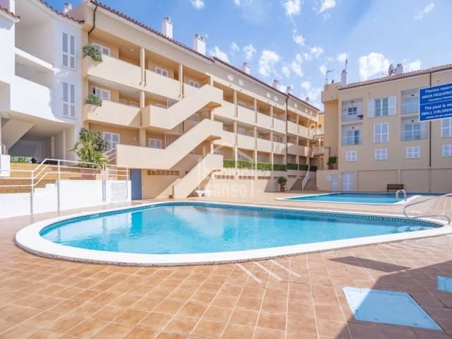 Lovely first floor apartment in Santa Ana, Menorca
