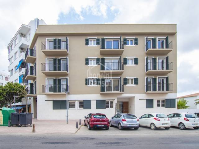 New promotion of exclusive flats in Mahón
