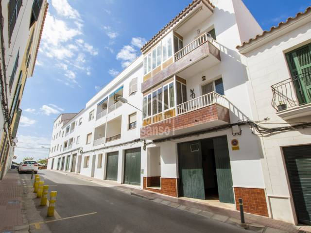 Large apartment with garage in Es Castell, Menorca