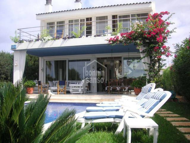 Individual villa with private pool and tourist license in Sa Caleta