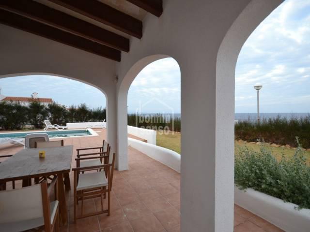 Villa in prima linea di mare in Cap d'Artrutx Minorca