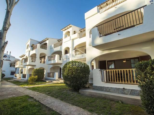 Schönes Apartment in der Residenz von Siesta Mar, Alayor, Menorca.