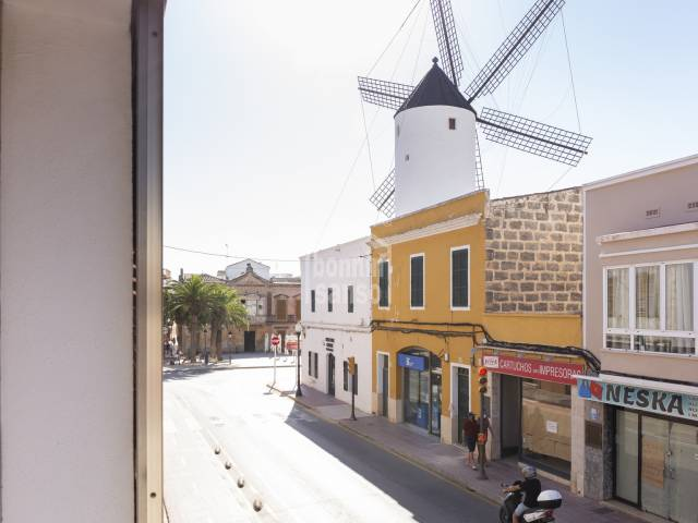 First floor flat with lift in the centre of Ciutadella, Menorca