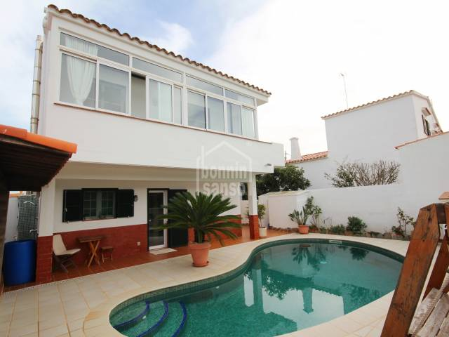 Detached villa with swimming pool in Son Vilar, Menorca