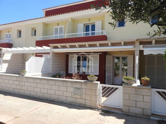 High quality terraced house in the sough after residential area of Malbuger Mahon Menorca