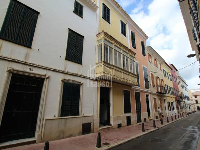 Traditional townhouse in the center of Mahon, Menorca