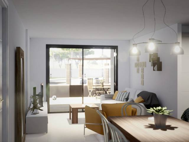 Modernes Neubau Apartment in Sa Coma, 10 min. vom Strand entfernt. Mallorca
