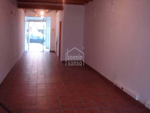 Commercial premises in Ciutadella
