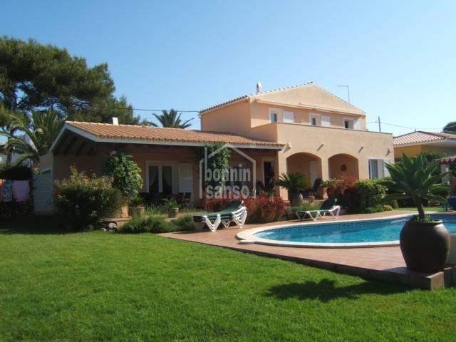 Good villa near Punta Prima beach