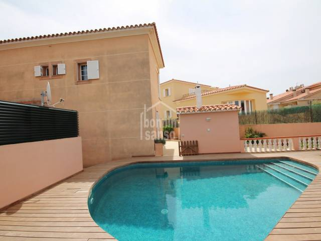 Charming 4 bedrooms villa with swimming pool in Malbuger, Mahon, Menorca.