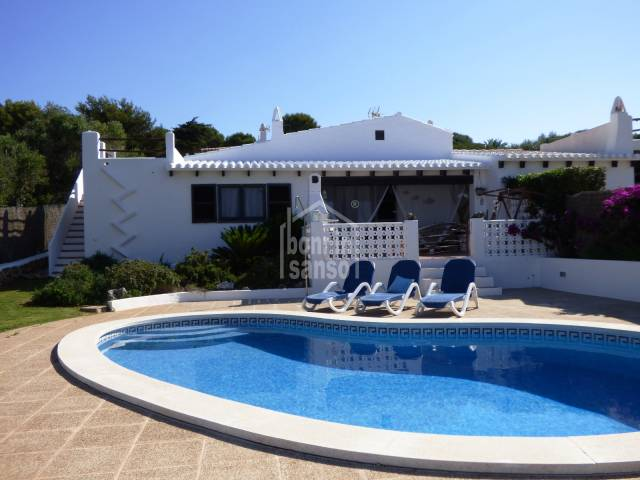 Charming semidetached villa, Binibeca vell, Menorca