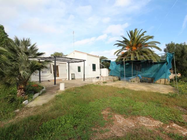 Finca rustica cerca de la costa sur cerca de Salgar/Alcaufar Menorca