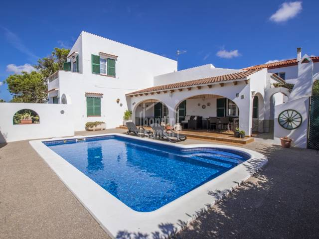 Beautiful villa in Cala Blanca, Menorca.