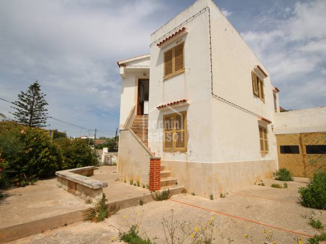 Villa divided in two apartments in Ciutadella.
