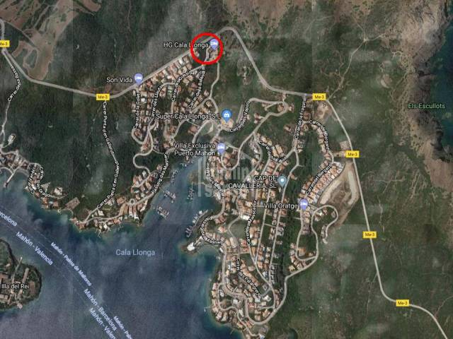 Gran parcela edificable en Cala Llonga, Menorca
