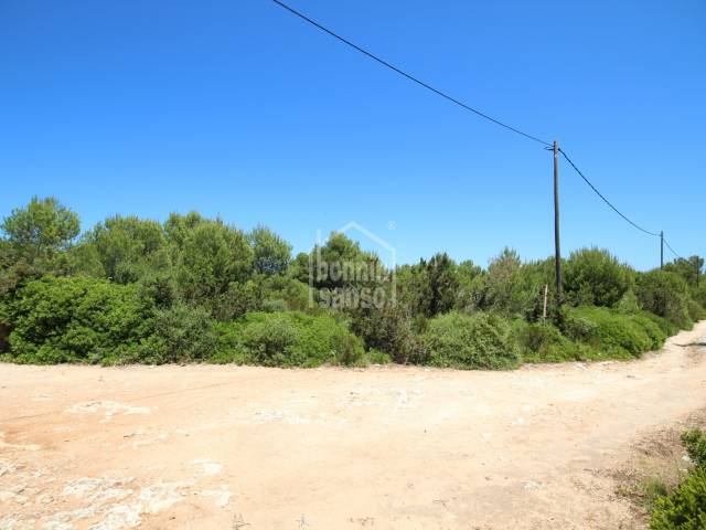 Rustic plot of land in Cala Morell, Ciutadella, Menorca