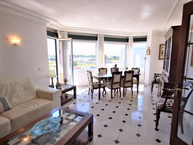 dining living room - Large house with garage and patio, Ciutadella, Menorca