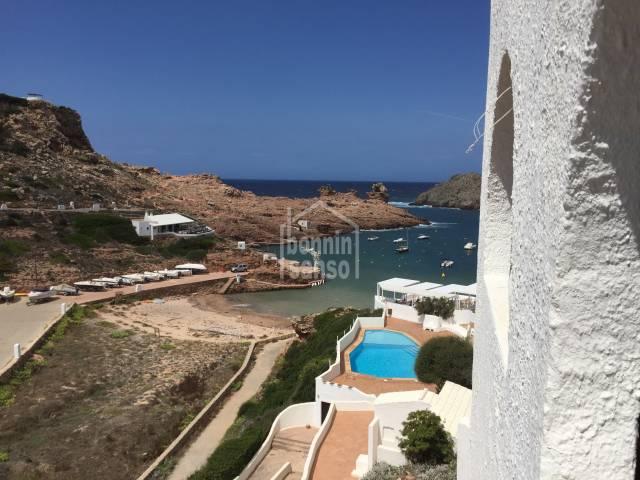Front line appartement in Cala Morell,Ciutadella, Menorca