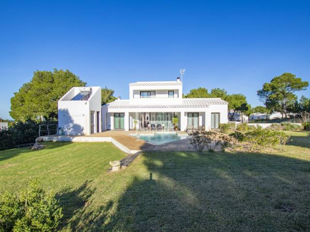Superb villa in Cala Morell, Ciutadella, Menorca