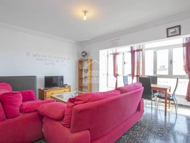 Large apartment in Es Castell, Menorca