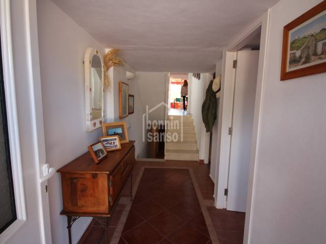 Terraced villa with sea views in Calan Blanes, Ciutadella, Menorca
