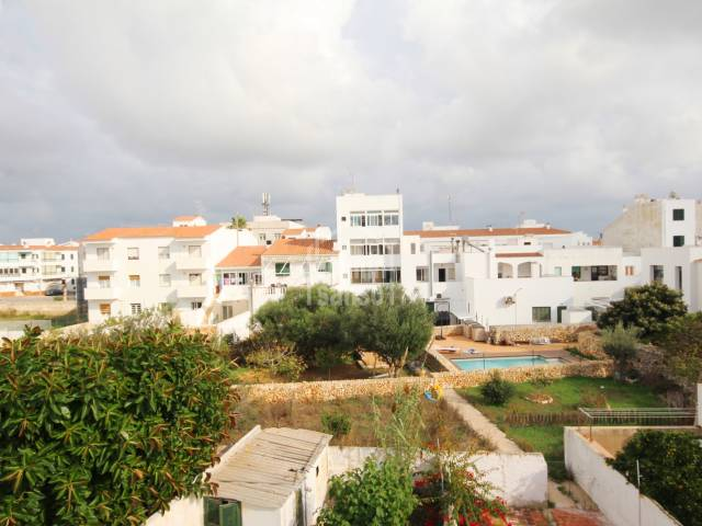 House on the first and second floor in the centre of San Luis, Menorca