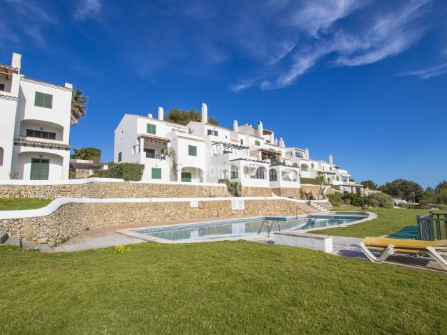 Apartment mit herrlichem Meerblick in Coves Noves, Menorca