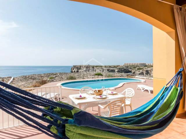 Beautiful apartment facing the sea in Los Delfines, Ciutadella, Menorca