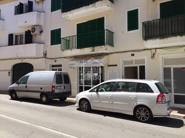 Commercial premises in Es Castell, Menorca.