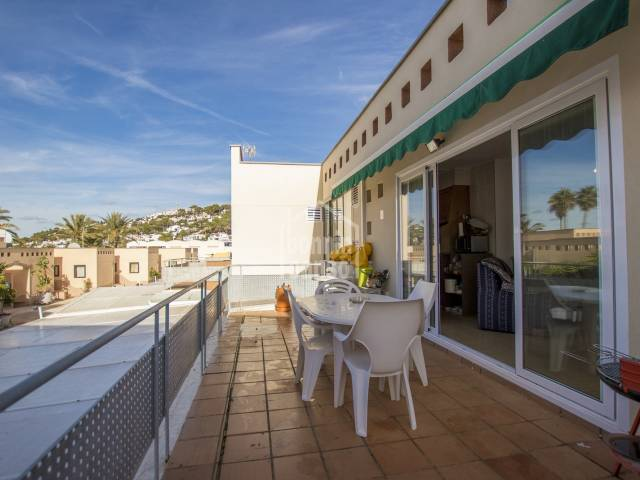 First floor apartment in the attractive urbanization of  San Jaime, Menorca