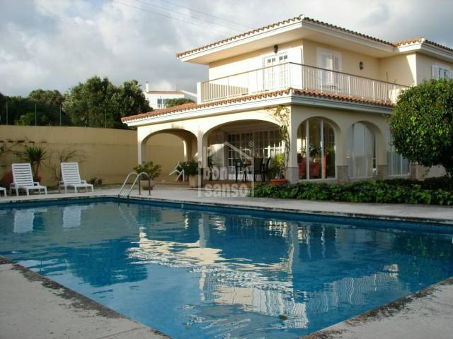 Large villa in Son Vilar, Menorca