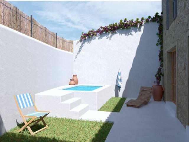 Casa de pueblo, completamente renovado con piscina, Son Servera, Mallorca