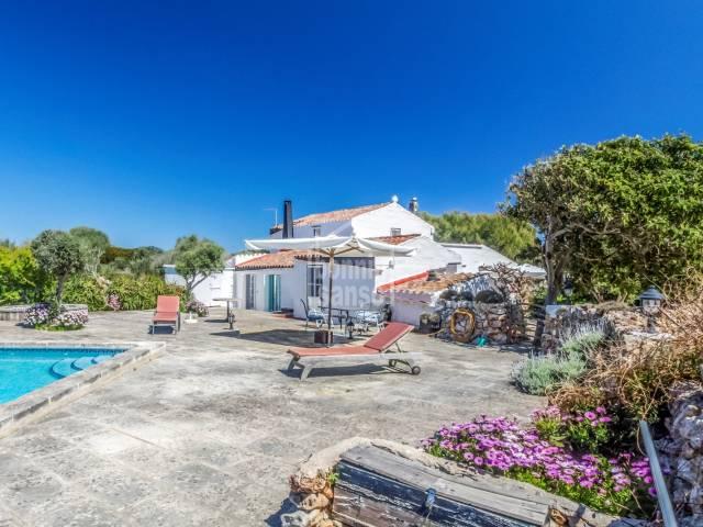 Menorcan cottage near San Clemente